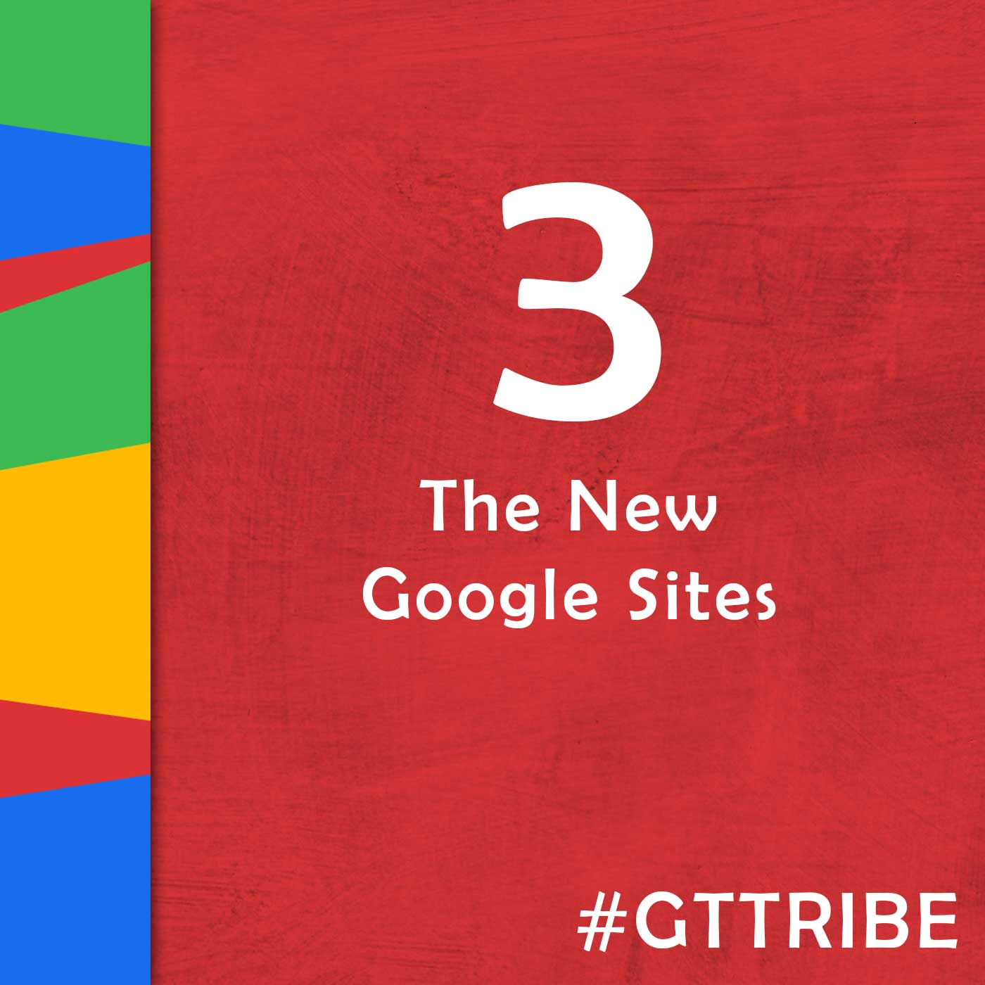 Google Teacher Tribe Podcast | Episode 3 The New Google Sites