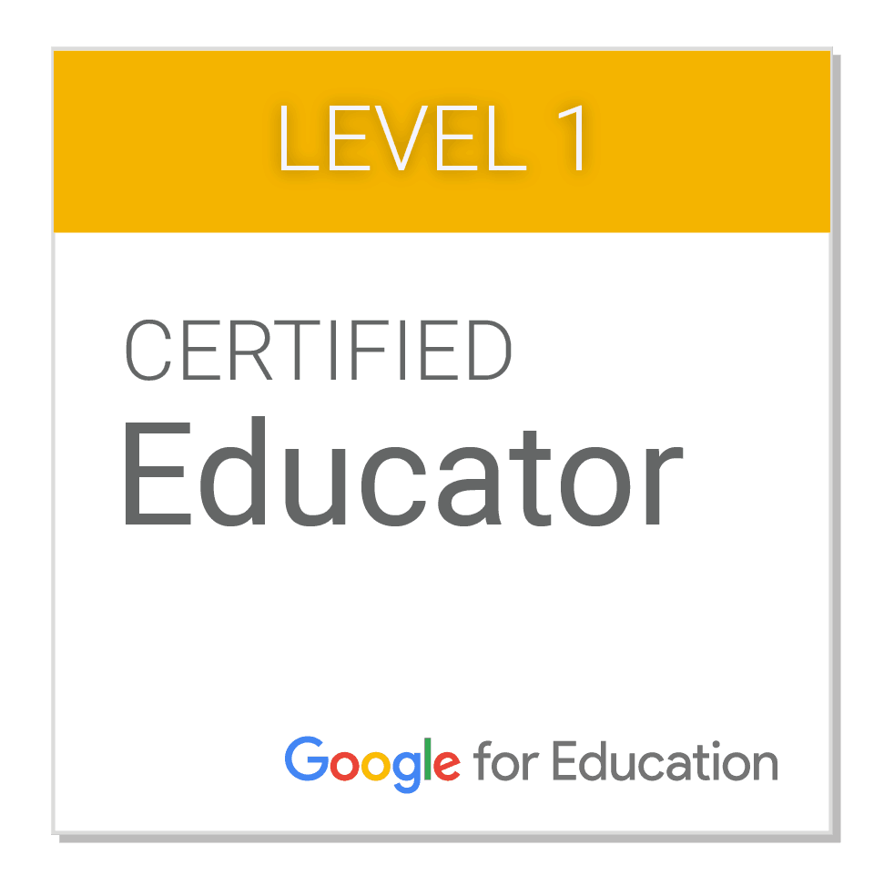 Google Certified Educator Level 1 Resources