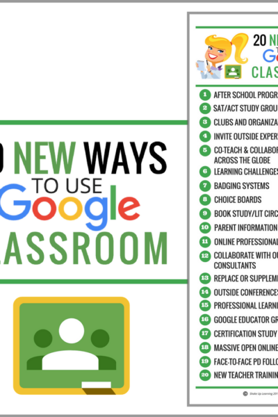 20 New Ways to Use Google Classroom