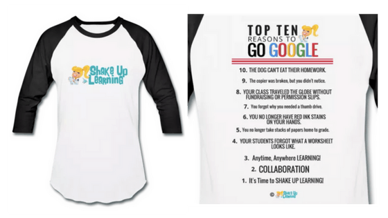 Shake Up Learning tshirt