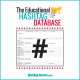 The Educational Hashtag and Twitter Chat Database