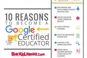 10 Reasons to Become a Google Certified Educator (infographic and video)