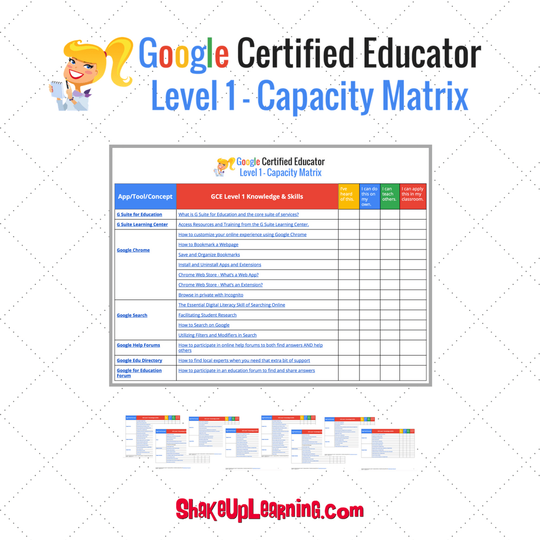 What You Need to Know to Pass the Google Certified Educator