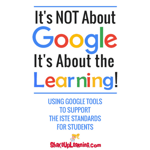 It's NOT About Google, It's About the LEARNING! - Using Google Tools to Support the ISTE Standards for Students