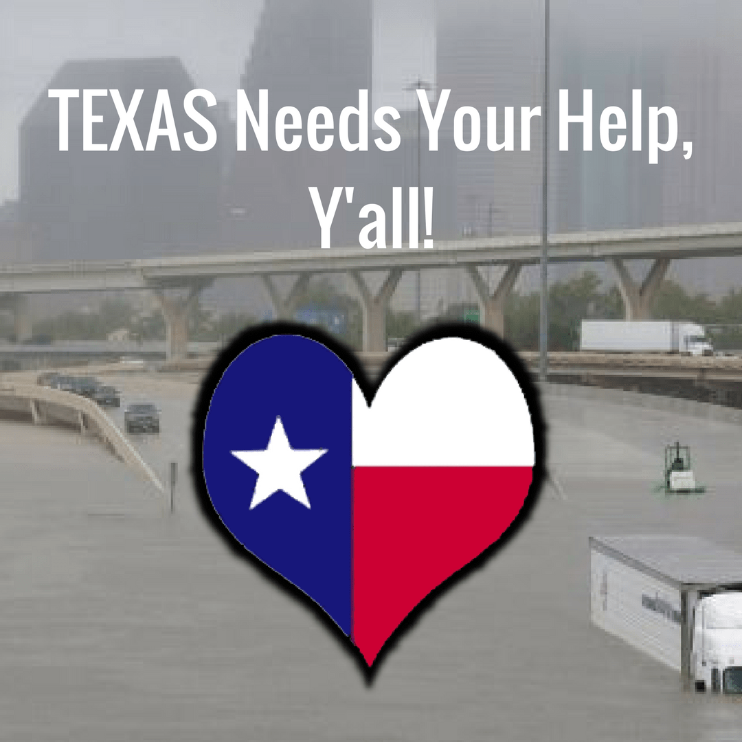 Texas Needs Your Help, Y'all!