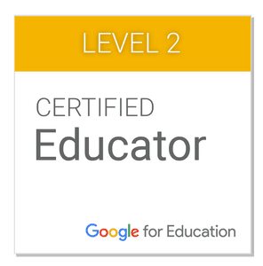 Google Certified Educator Level 2 Resources