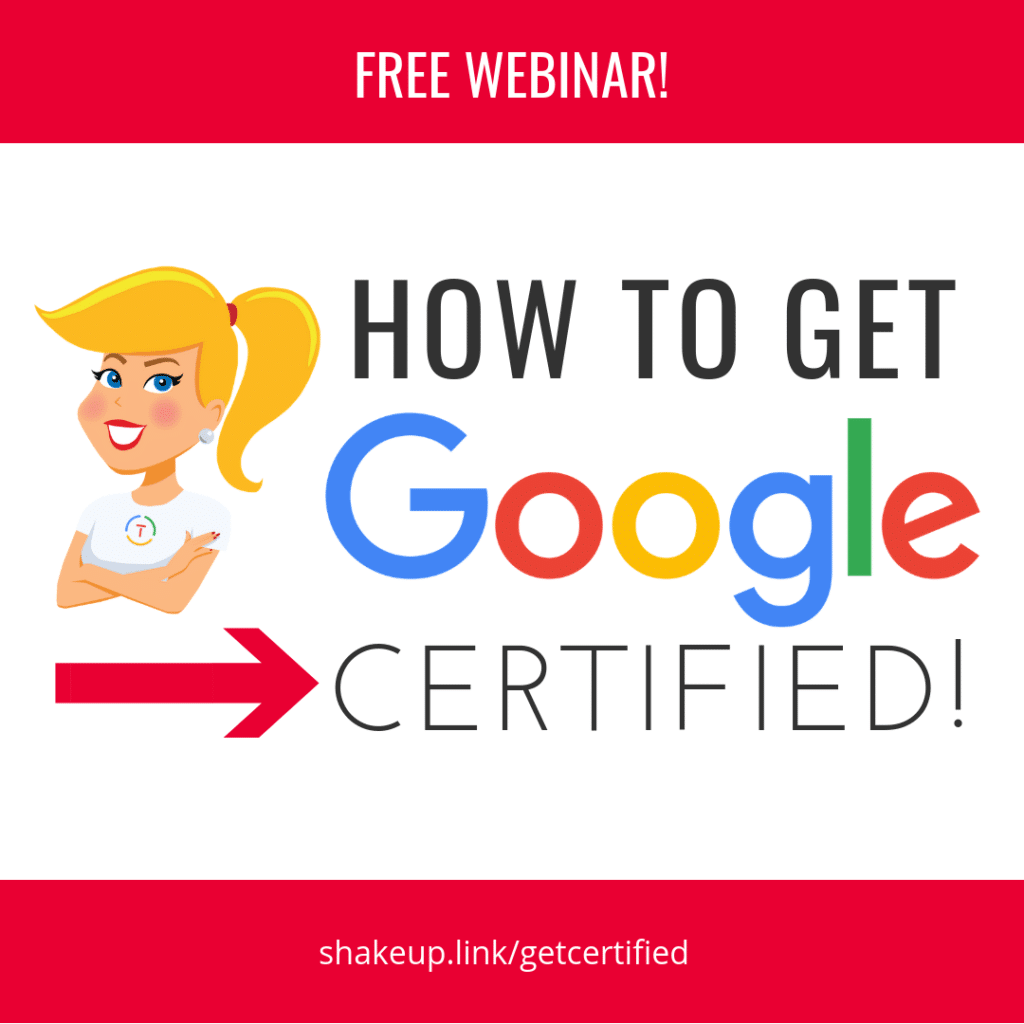 How to Get Google Certified (FREE Webinar)