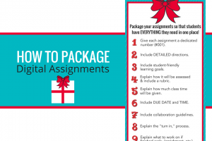How to Package Your Digital Assignments
