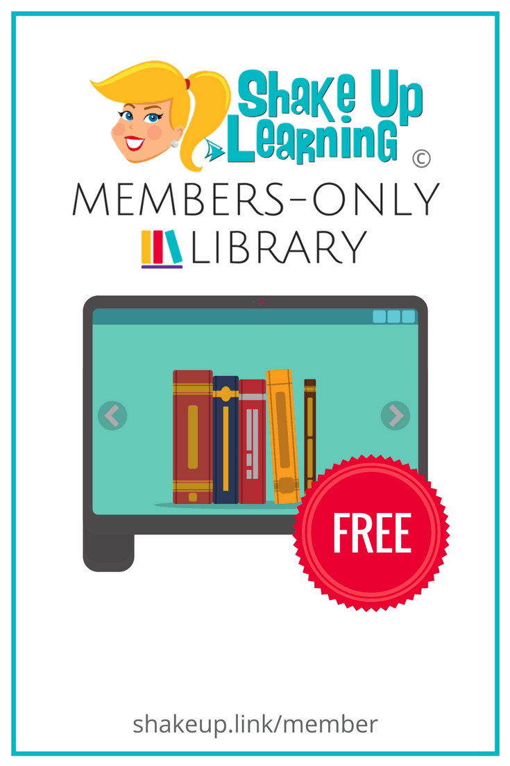 Shake Up Learning Members-Only Library! (FREE Downloads)