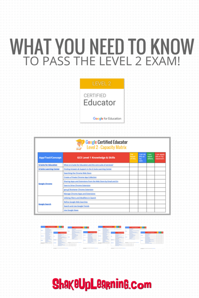 What You Need to Know to Pass the Google Certified Educator Level 2 Exam