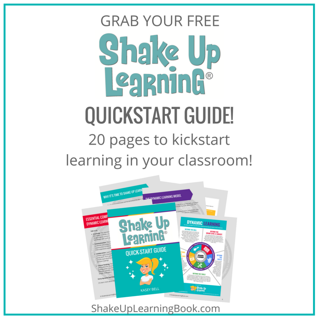Shake up learning website and blog shake up learning with the free quickstart guide fandeluxe Choice Image