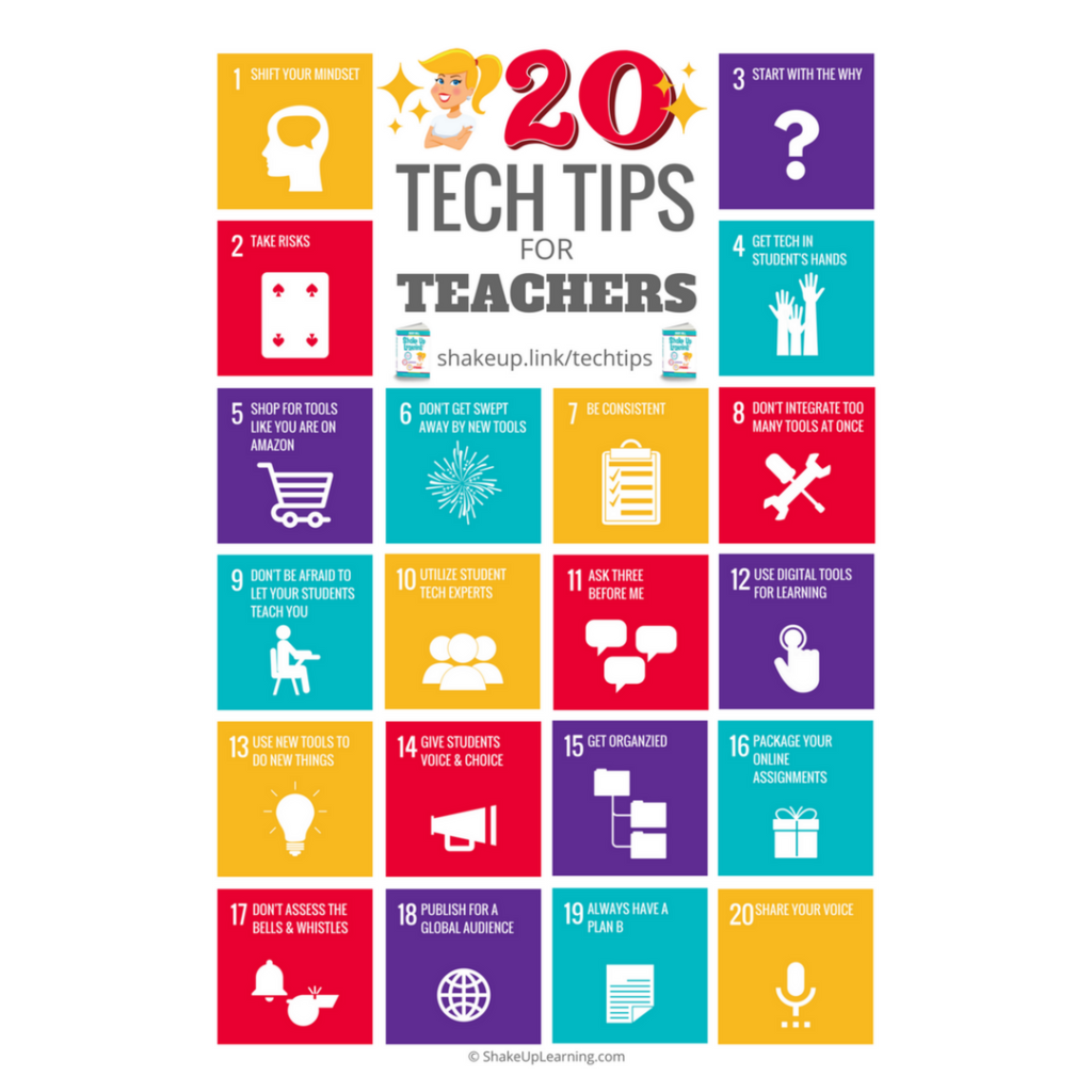 6e066836cef Top 20 Tech Tips for Teachers