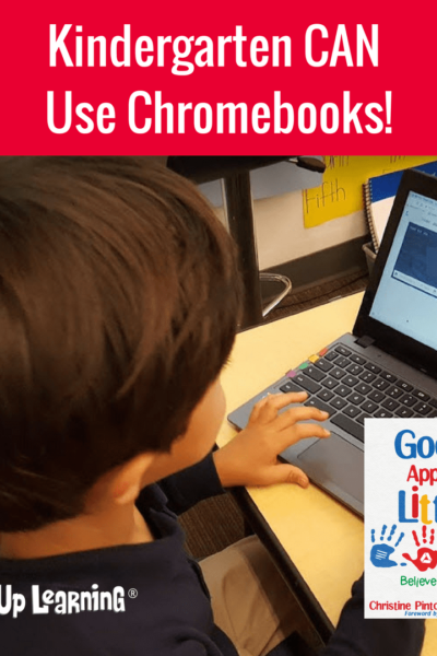 Yes, Kinder CAN Use Chromebooks!