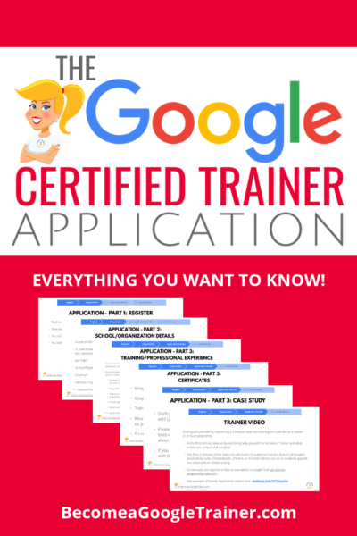 The Google Certified Trainer Application - All You Need to Know!