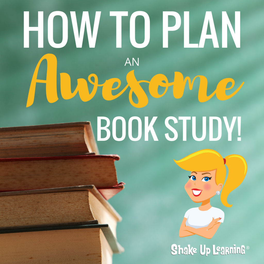 Shake up learning website and blog how to plan an awesome book study fandeluxe Images