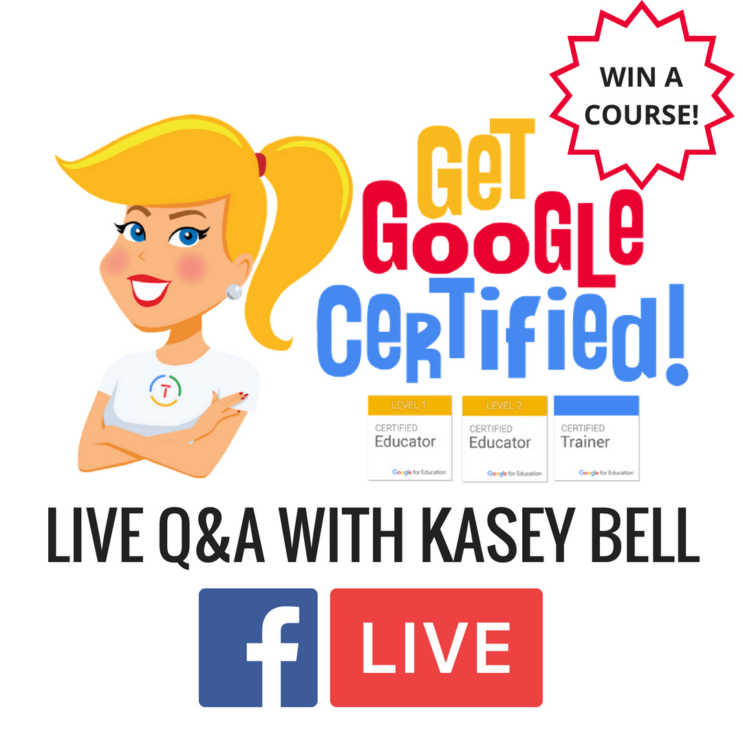 Google Certification LIVE Q&A with Kasey Bell