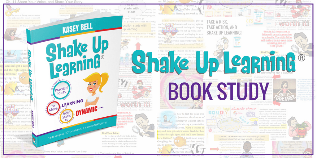 Join the Shake Up Learning Summer Book Study!