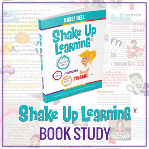Join the Shake Up Learning Book Study!