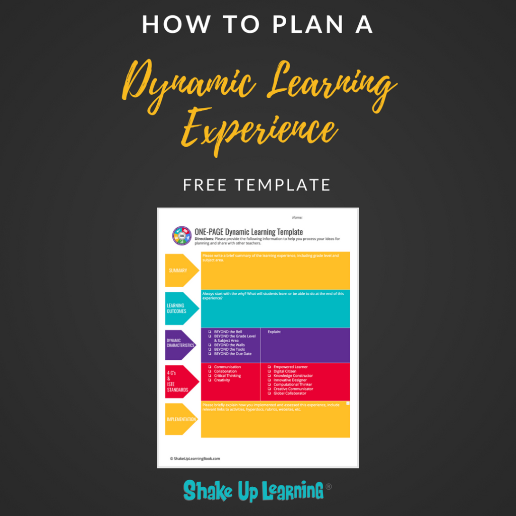 Shake up learning website and blog how to plan a dynamic learning experience free template fandeluxe Choice Image