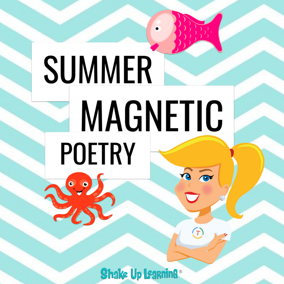 Summer Magnetic Poetry (FREE Template and Tutorial)