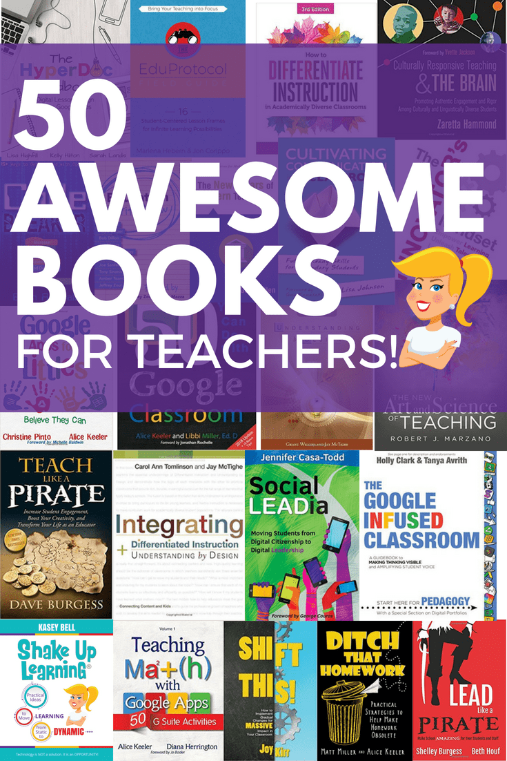 50 Awesome Books for Teachers!