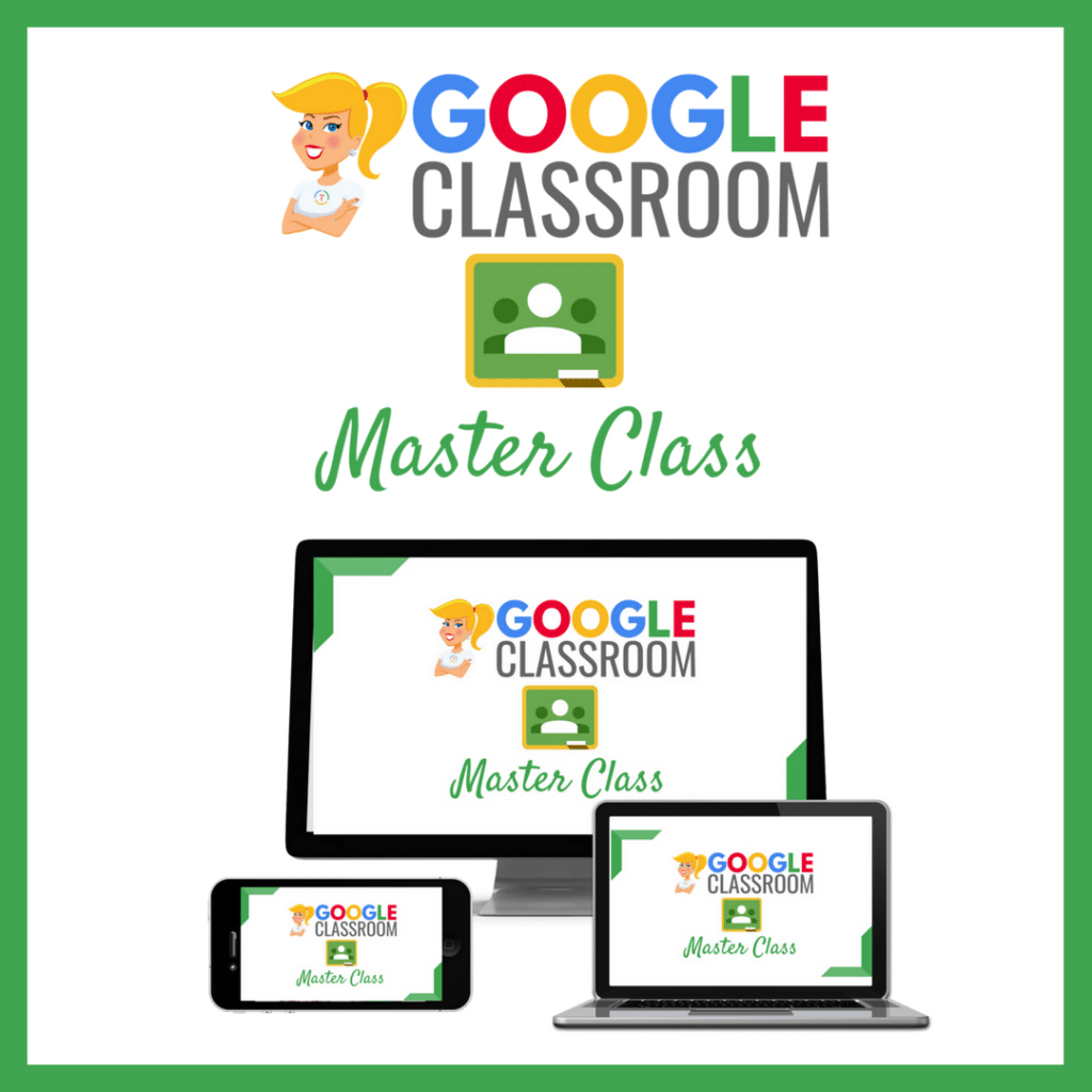 Shake up learning website and blog the google classroom master class join today fandeluxe Choice Image