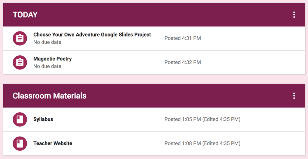 5 Ways to Organize Google Classroom Assignments