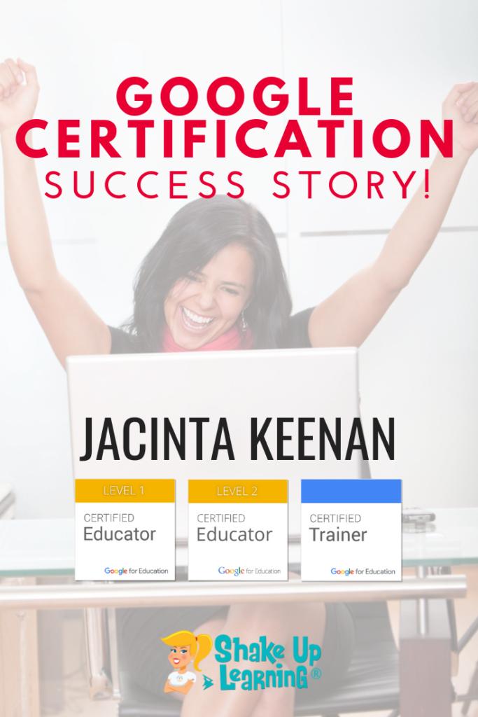 Google Success Story: Jacinta Keenan, Google Certified Trainer