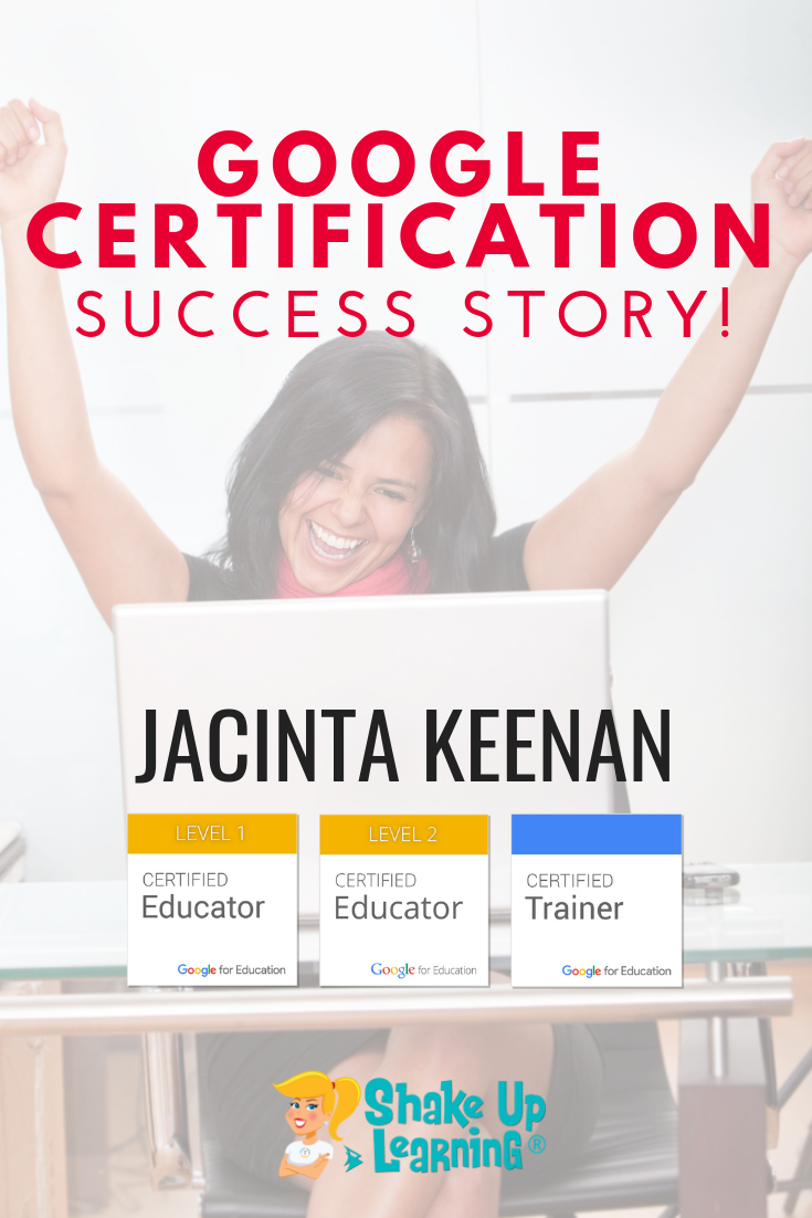 Google Success Story: Jacinta Keenan, Google Certified Trainer