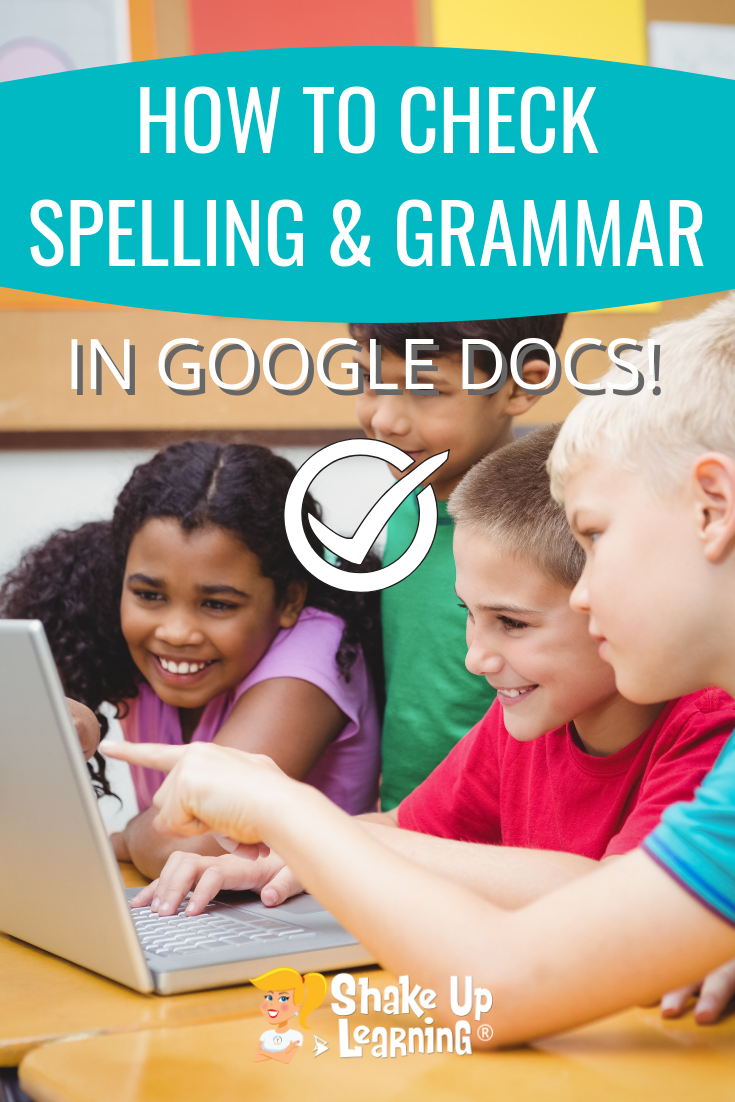 How to Check Spelling and Grammar in Google Docs!