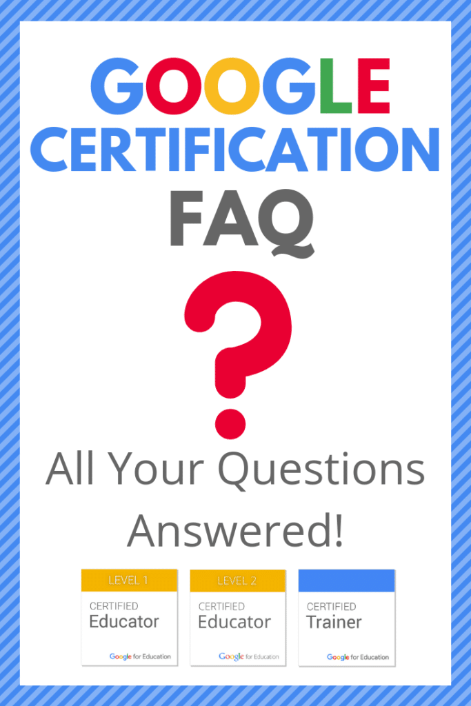 Google Certification FAQ - All Your Questions Answered!