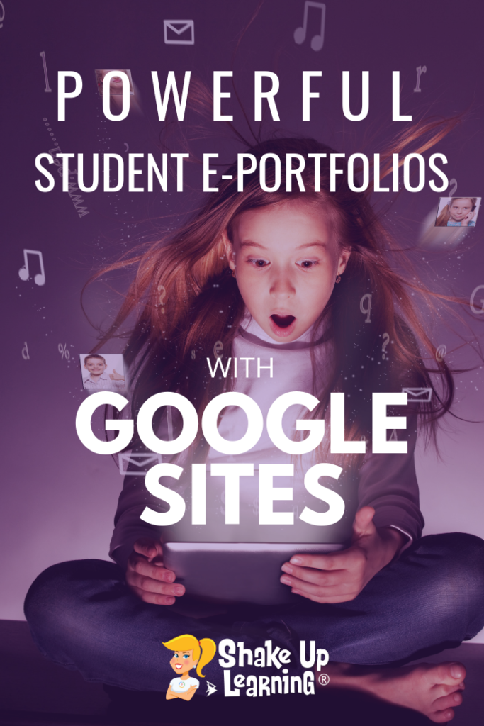 How to Create Powerful Student ePortfolios with Google Sites