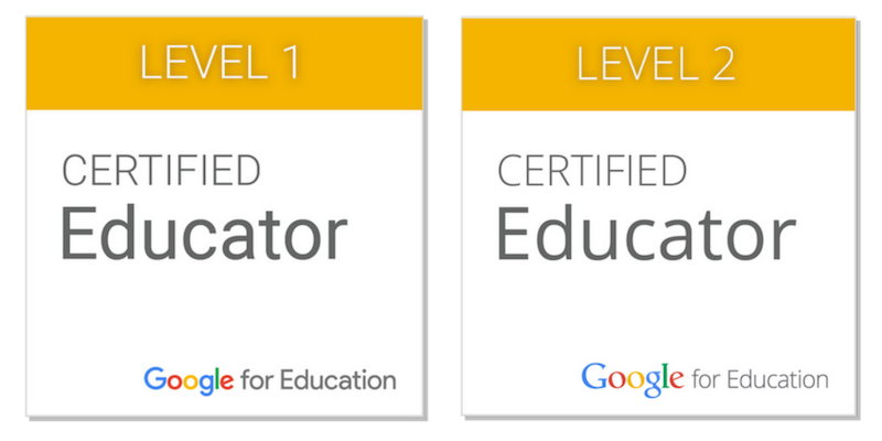 Level 1 and 2