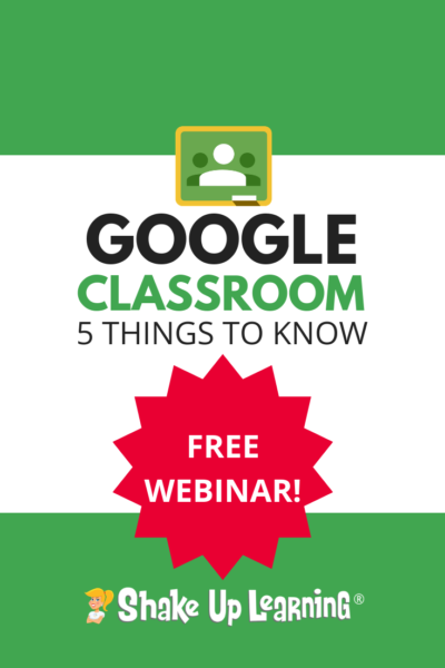 FREE Webinar: 5 Things to Know About the New Google Classroom!