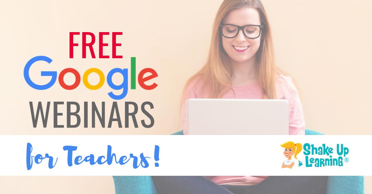 Webinars | Shake Up Learning