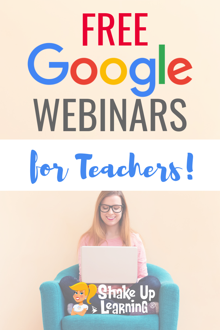 FREE Google Webinars for Teachers
