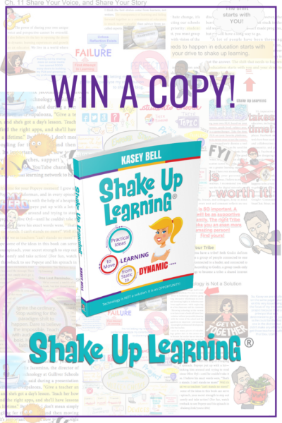 Win a Copy of Shake Up Learning!