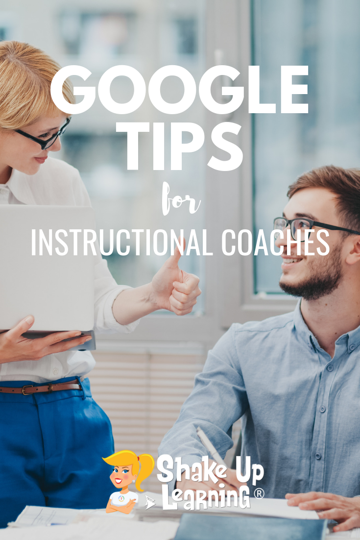 Google Tips for Instructional Coaches and Tech Coaches