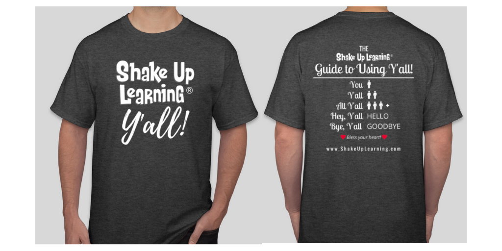 Shake Up Learning Y'all T-Shirt Product Pic