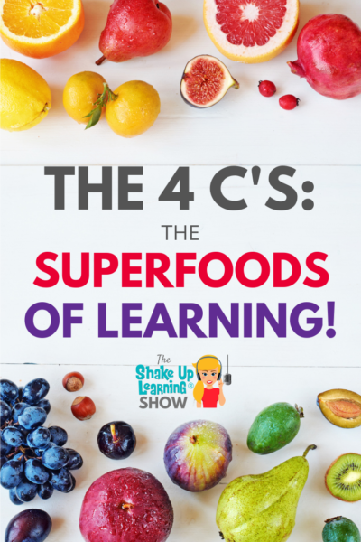 The 4 C's - The Superfoods fo Learning