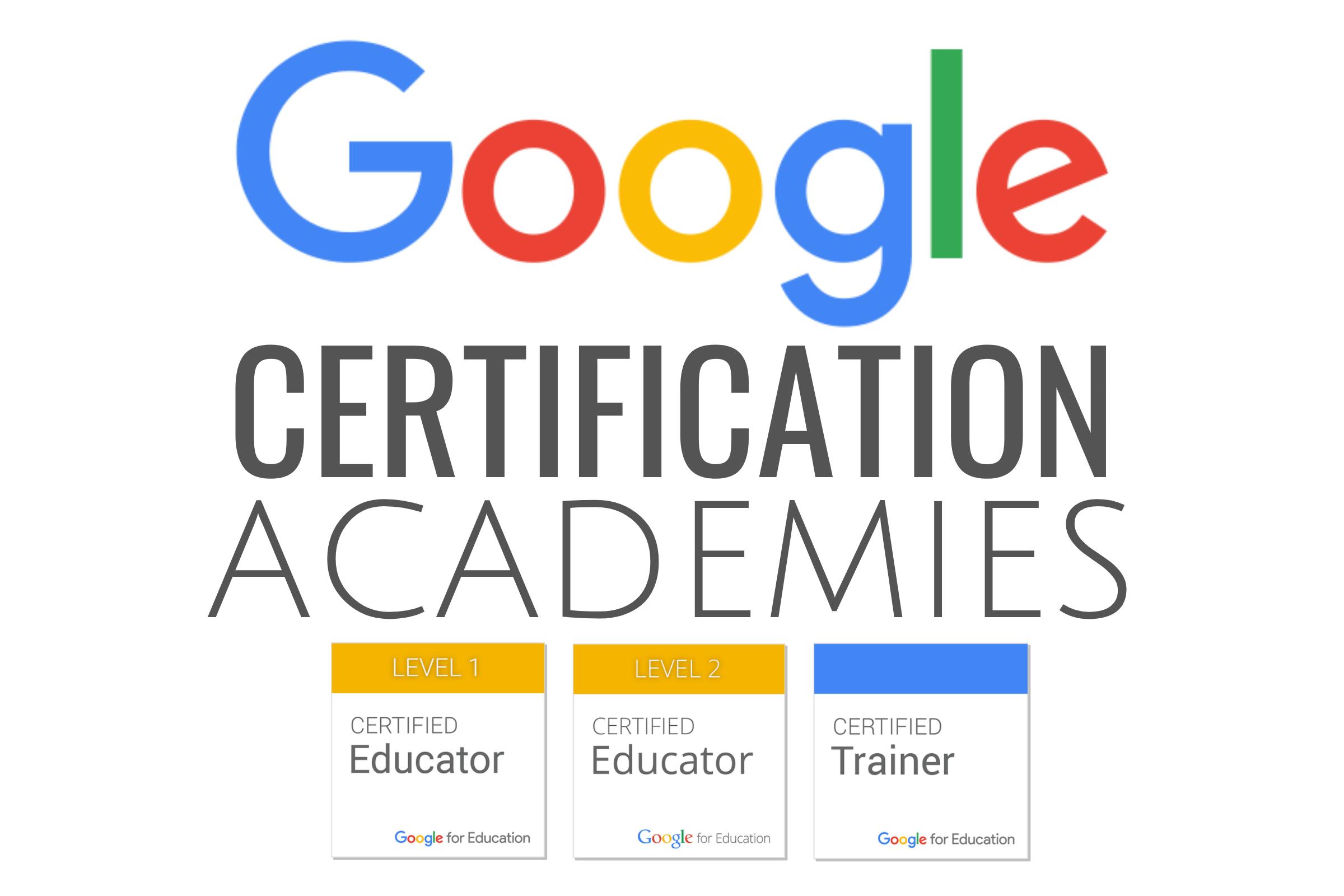 Google Certification Academies