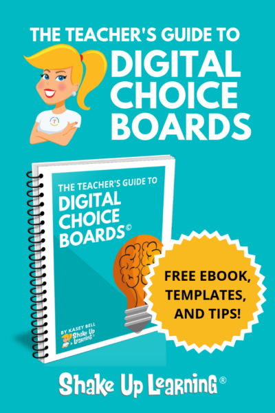 The Teacher's Guide to Digital Choice Boards - SULS008