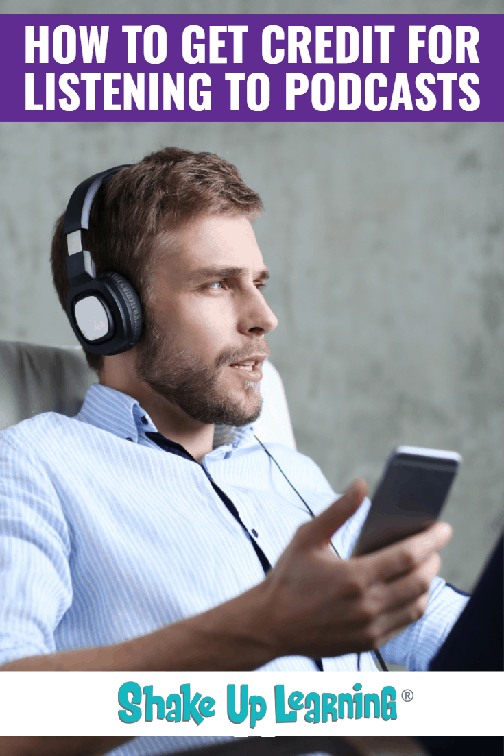 How to Get Credit for Listening to Podcasts