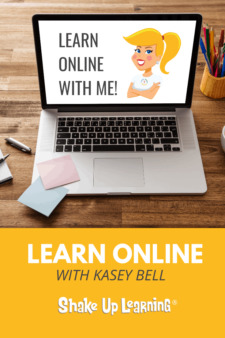 6 Ways to Learn Online with Kasey Bell this Summer