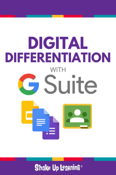 Digital Differentiation with G Suite