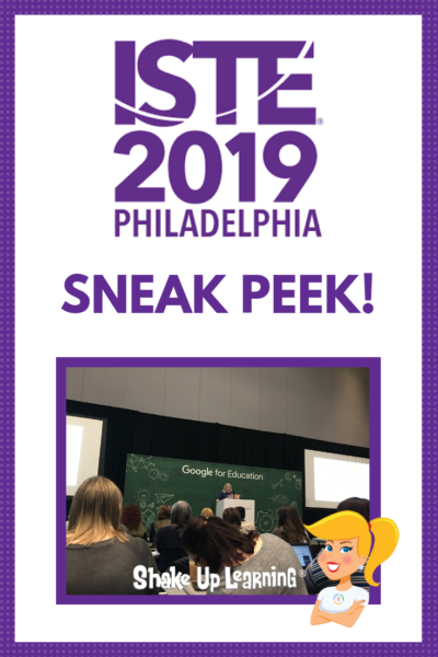 Sneak Peek: Kasey's #ISTE19 Presentations and Resources