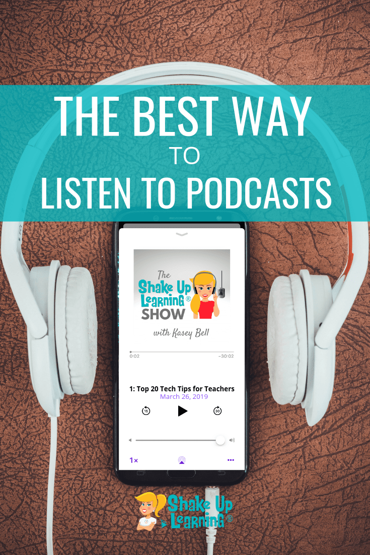 The Best Way to Listen to Podcasts