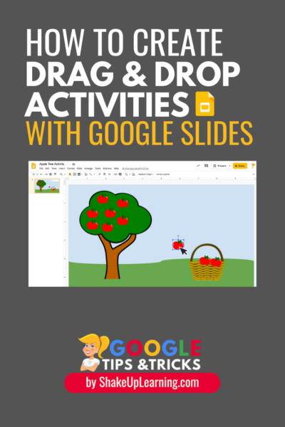 How to Create Drag and Drop Activities with Google Slides - SULS027