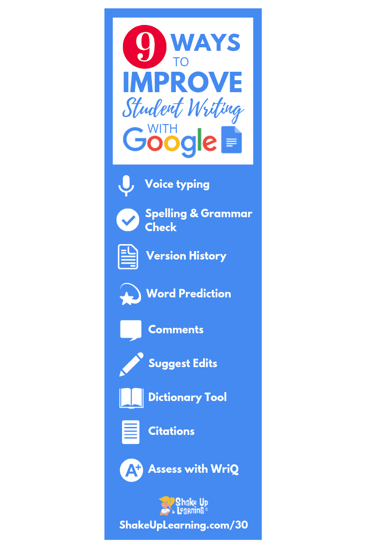9 Ways To Improve Student Writing With Google Docs Suls030