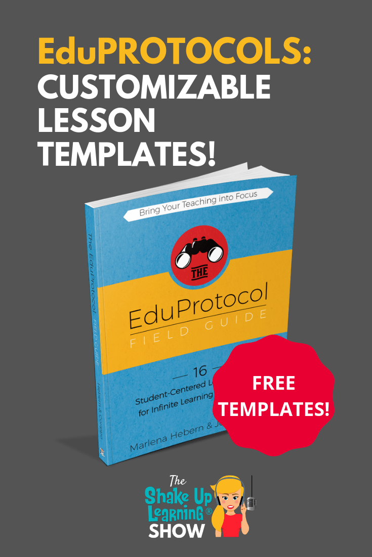 Eduprotocols: Customizable Lessons for Any Subject or Grade! - SULS028
